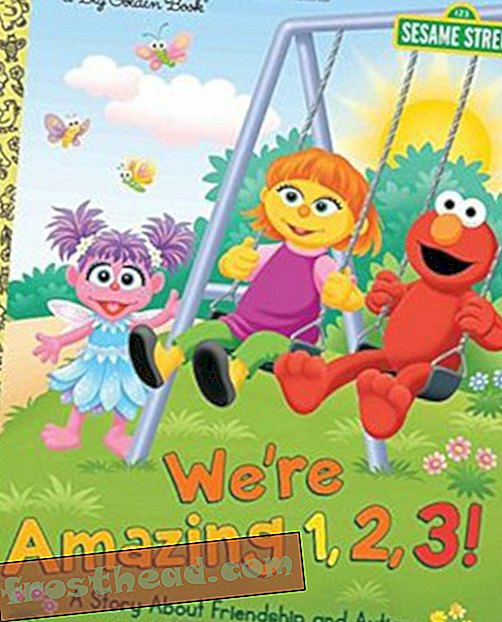 Preview thumbnail for 'We're Amazing 1, 2, 3! A Story About Friendship and Autism (Sesame Street) (Big Golden Book)