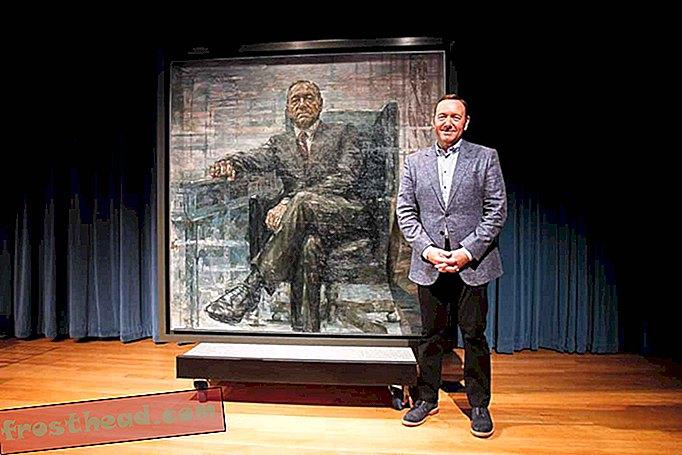 Francis J. Underwoods Präsidentenporträt wird im Smithsonian ausgestellt