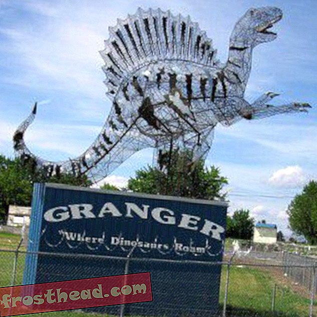 Dinosaur Sighting: Granger's Dinosaurs