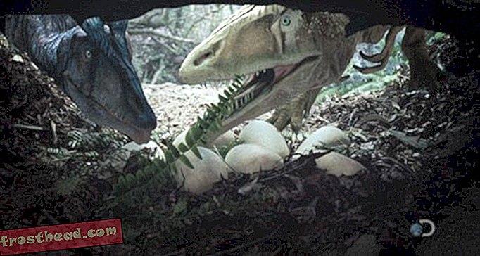 Exkluzivní: První pohled na revoluci dinosaura