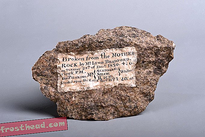 Den sande historie bag Plymouth Rock