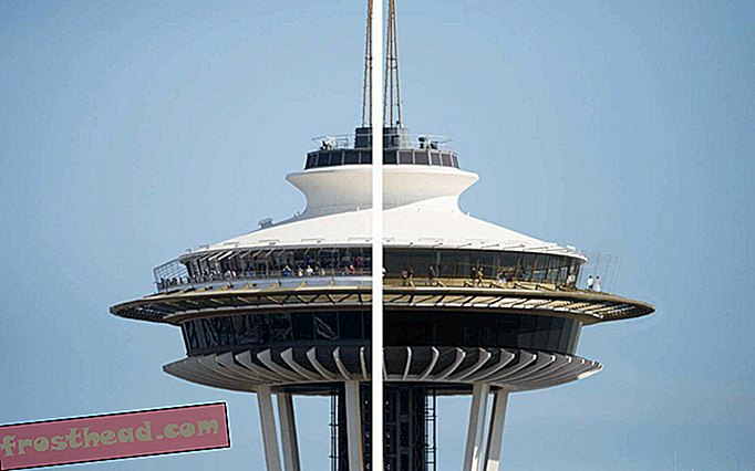 Space Needle του Σηάτλ παίρνει ένα makeover για να βελτιώσει τις πανοραμικές απόψεις