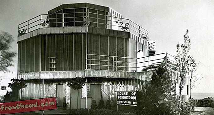 """Ретрофутуристична """"Дом на утрешния ден"""" е обявена за национално съкровище"""