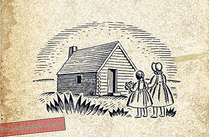 berita pintar, kesenian & budaya berita pintar, sejarah berita pintar & arkeologi - Rumah Kecil di Prairie Dibina di Tanah Amerika Asli