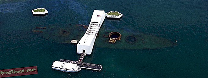 Tangkapan Exterior Tackle Indefinite Memorial USS Arizona