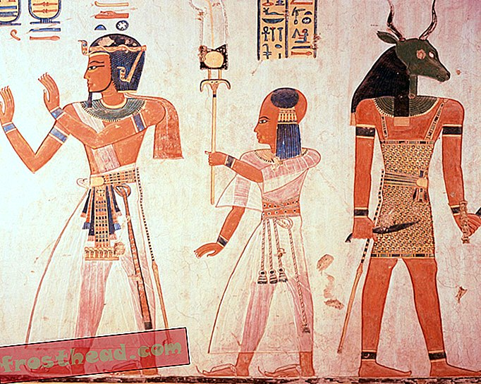 Un scanner montre que Pharoah Ramesses III a été assassiné par plusieurs assassins