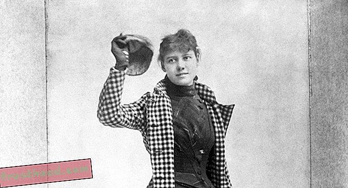 Lawatan Rekod Nellie Bly di Sekitar Dunia, untuk Kejutannya, A Race