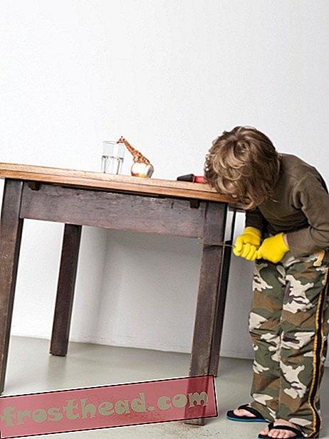 Бесмислен начин поправљања таблице која се не креће