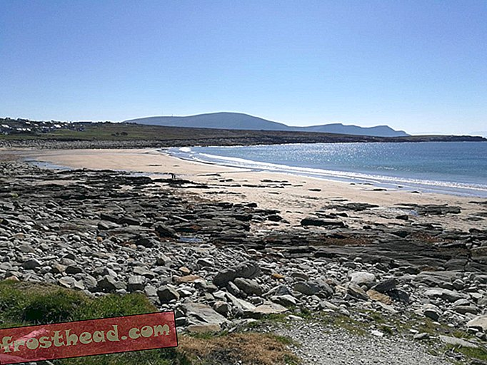 A Beach Hilang di Ireland 33 Tahun Ago-Now It's Back