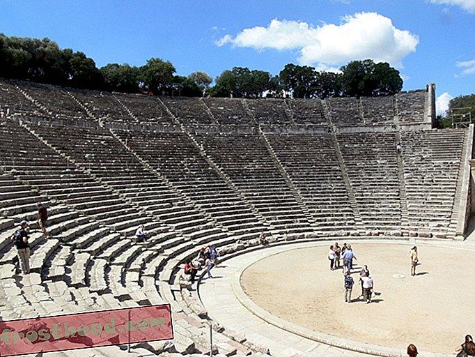स्मार्ट समाचार, स्मार्ट समाचार विज्ञान - प्राचीन यूनानी थियेटरों के ध्वनिकी वे क्या नहीं करते थे