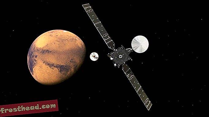 Πέντε πράγματα που πρέπει να γνωρίζετε για τον ανιχνευτή Schiaparelli Probe για Touchdown στον Άρη